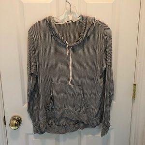 Brandy Melville striped hoodie